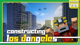 Minecraft Xbox 360: Constructing Los Dangeles - Episode 209! (Two-Year Anniversary - History of LD!)