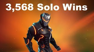 #1 World Record 3,568 Solo Wins | Fortnite Live Stream