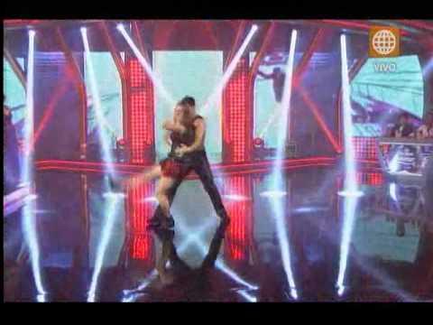 El Gran Show: Carolina Cano presentó un explosivo baile de Christina Aguilera