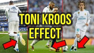 THE TONI KROOS EFFECT - HOW KROOS IS IMPACTING THE FOOTBALL BOOT CHOICES OF REAL MADRID PLAYERS