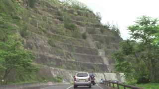 PAUL HODGE: TAHITI DRIVE TO WATERFALLS, 2013 SOLO AROUND WORLD IN 24 DAYS, Ch 123, SoloAroundWorld