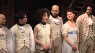 what i did for love hamilton cast honors a chorus line
