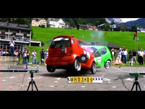 Crash Test Smart Vs Fiat 600