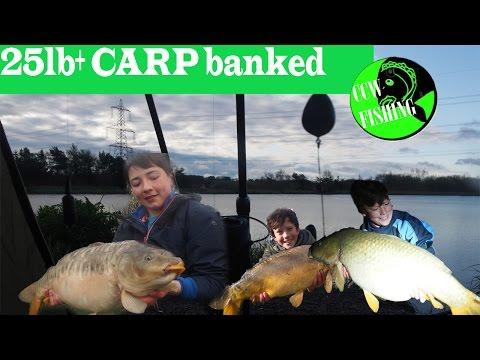 CEFN MABLY LAKES 24hrs PB SMASHING 25lb+ CARP Banked