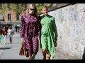 Streetstyle: 75 ярких образов с Недели моды
