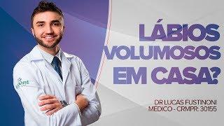 DÁ PRA AUMENTAR VOLUME DOS LÁBIOS EM CASA? - FulLips - CandyLips - Dr Lucas Fustinoni - CRMPR 30155
