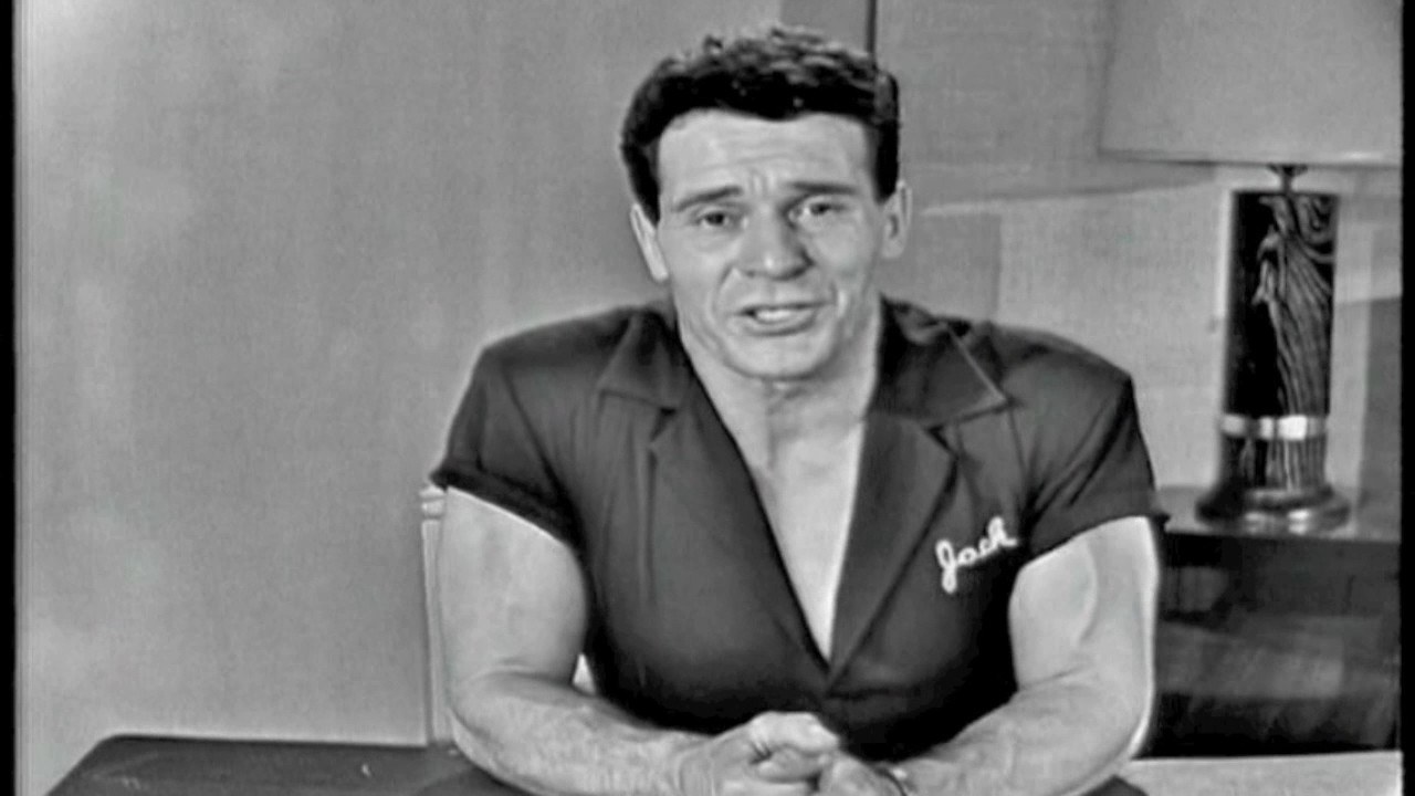 Jack LaLanne saves  one woman's life.Before and after photos.