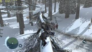 Assassins Creed 3 Snow Gameplay 1080p