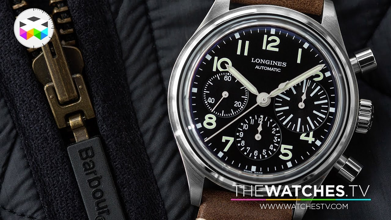 2aeaff01398 Longines New Watches of Baselworld 2018 - YouTube