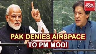 Pakistan Repeatedly Denies Its Airspace To PM Modi Since Balakot