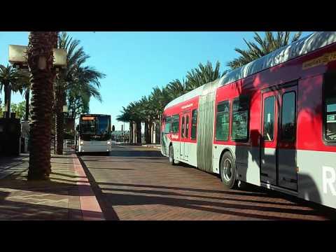 Metro Buses at LA Union Station.
