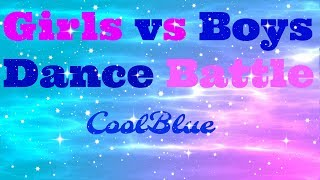 Girls vs Boys Dance Battle MMD 5K