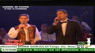Nicusor Iordan&Gelu Voicu-Foaie verde ca aluna LIVE (Copyright © Etno tv) S.e.