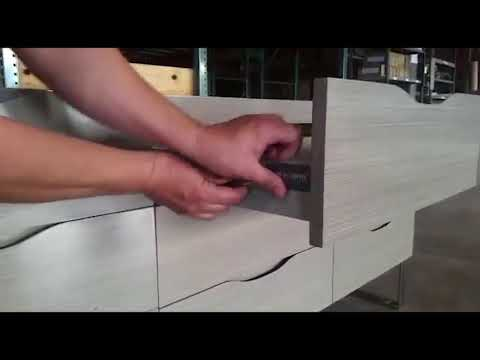 How to adjust the drawers on a Bolano or Milano Vanity