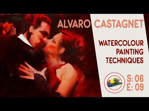 Fine art tips with a Watercolour Lesson with Alvaro Castagne
