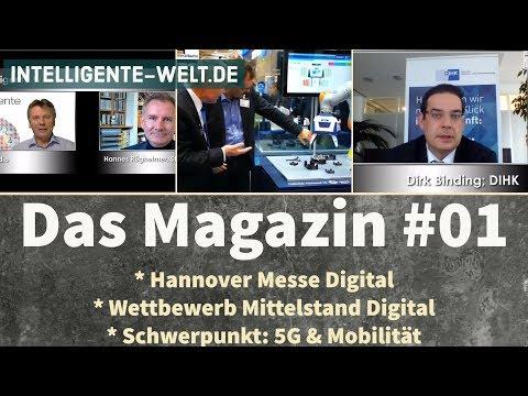 HANNOVER MESSE DIGITAL * 5G & MOBILITÄT * WETTBEWERB DIGITALER MITTELSTAND -  IW  - das Magazin