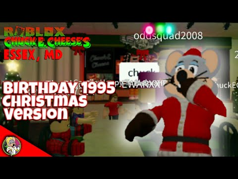 Chuck E Cheese Christmas.Roblox Chuck E Cheese S Essex Maryland Birthday 1995