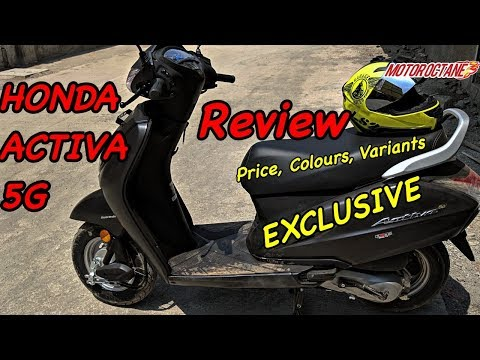 Honda Activa 5G Review in Hindi | Price, Colours, Variants | MotorOctane