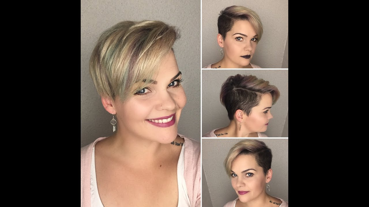 How to style a undercut pixie