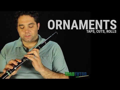 Flute Lesson - Ornaments: Taps, Cuts, and Rolls