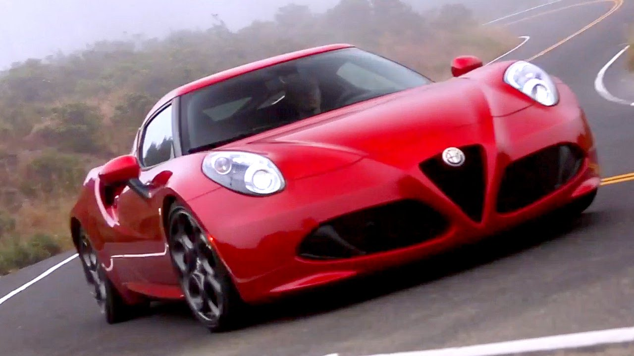 Alfa Romeo 4c >> 2015 Alfa Romeo 4C Review - Kelley Blue Book - YouTube