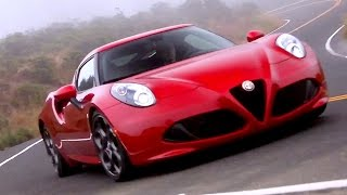 2015 Alfa Romeo 4C - Review & Road Test