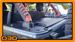 Diabolical Inc Slipstream XLS Install into a 2015 Jeep Wrangler Unlimited JKU