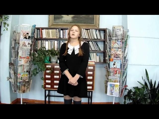 Изображение предпросмотра прочтения – АнастасияБессолицына читает произведение «Надежда, белою рукою» Б.Ш.Окуджавы