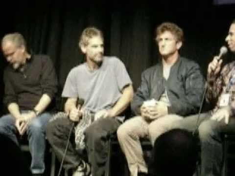 Sean Penn, Jon Krakauer, and Jay Cassidy at Telluride Film Festival (Into The Wild)