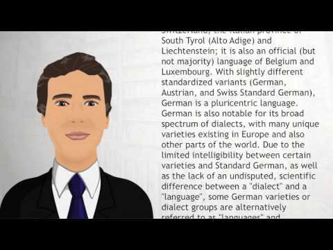 German language - Wiki Videos