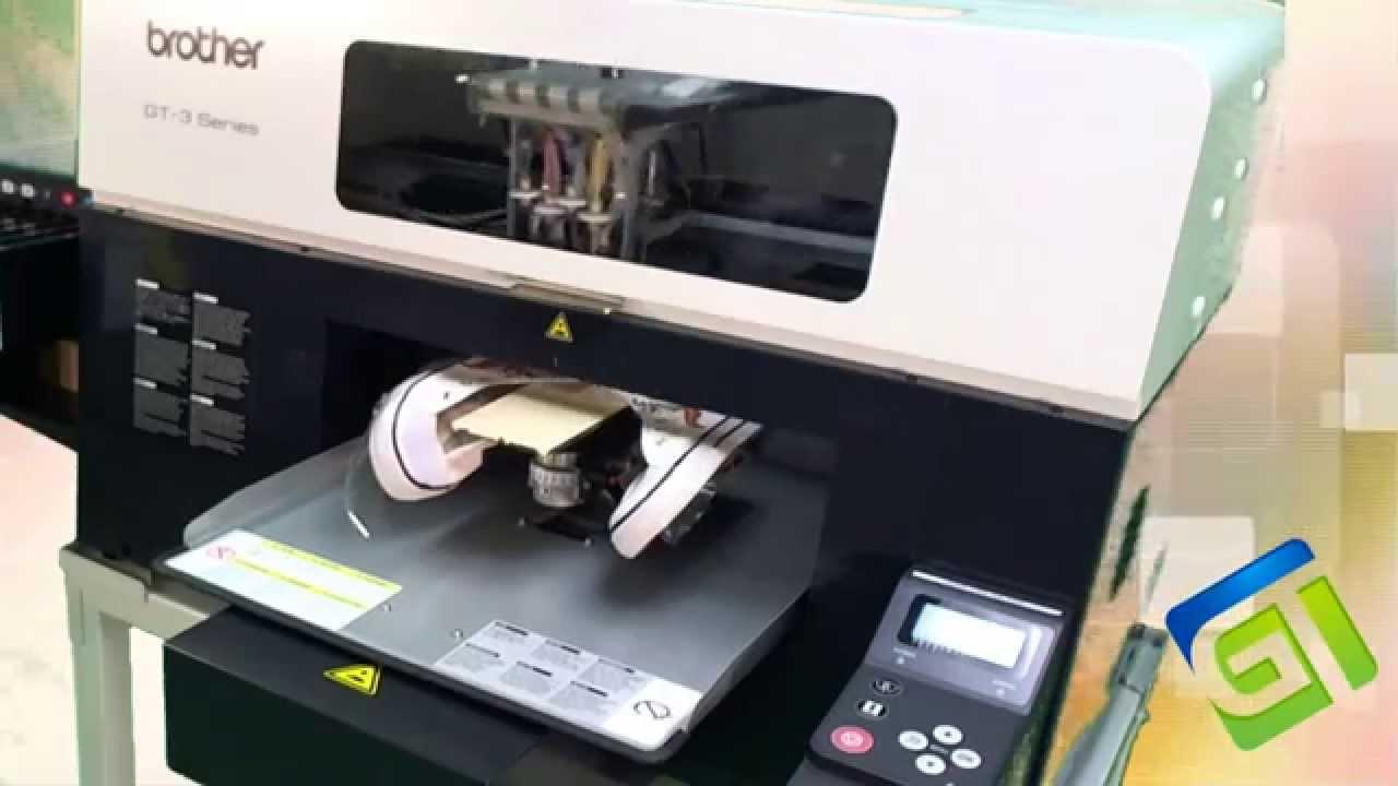 Printing Footwear Using GT Shoe Platen On Brother Printers