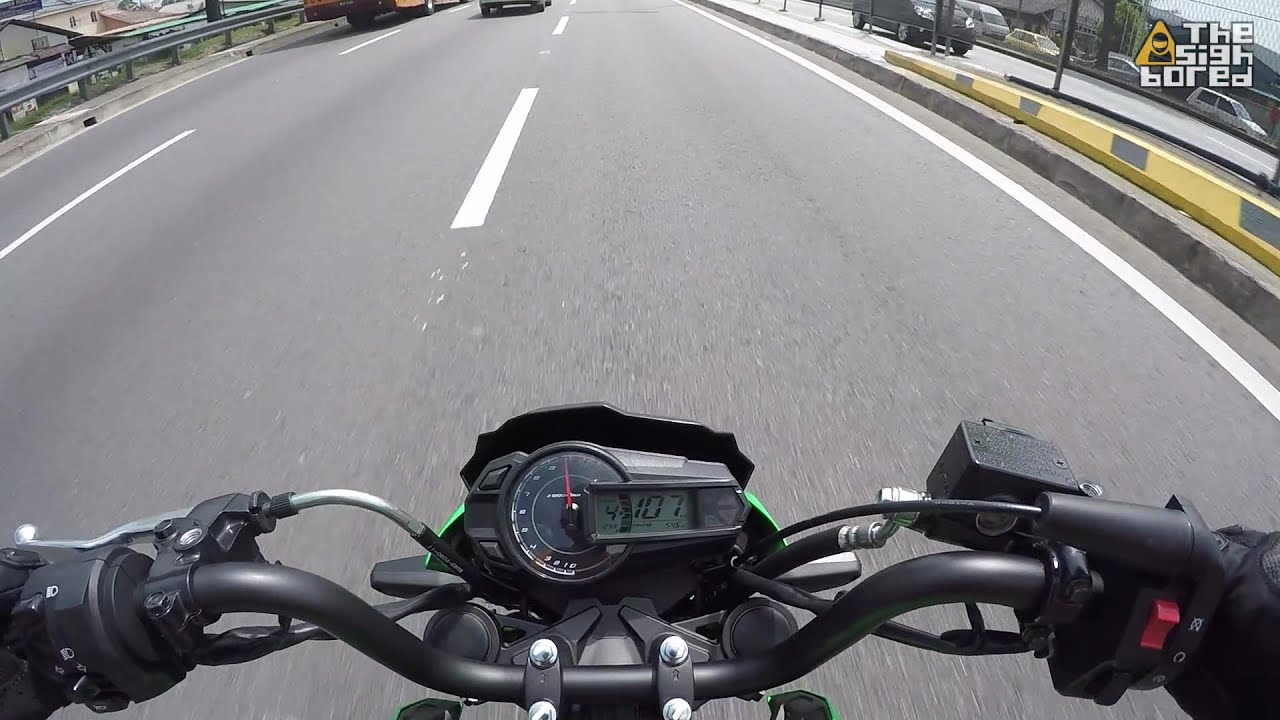 Kawasaki Z125 Pro Top Speed Youtube