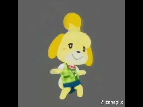 ISABELLE DOES THE ORANGE JUSTICE
