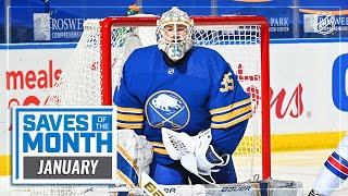 Best Saves of January | 2021 NHL Season