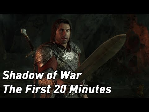 Middle Earth: Shadow of War - the first 20 minutes running on PS4 Pro