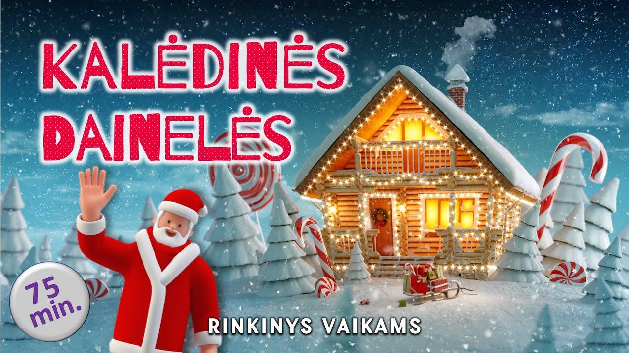 Vaikiškos Kalėdinės Dainelės 2020 • Lietuviškų Kalėdinių Dainų Rinkinys •