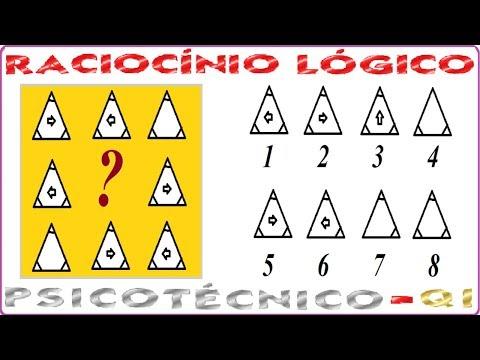 Raciocínio Lógico Sequência Figura Teste psicotécnico QI Quociente de Inteligência Detran Concurso from YouTube · Duration:  4 minutes 16 seconds