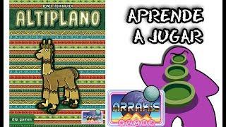 Altiplano - Español - Reseña Juego de Mesa - Preparación y cómo se juega