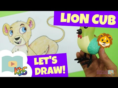 How to Draw a Cute Lion: Action by Step for Kids - NewsBurrow thumbnail