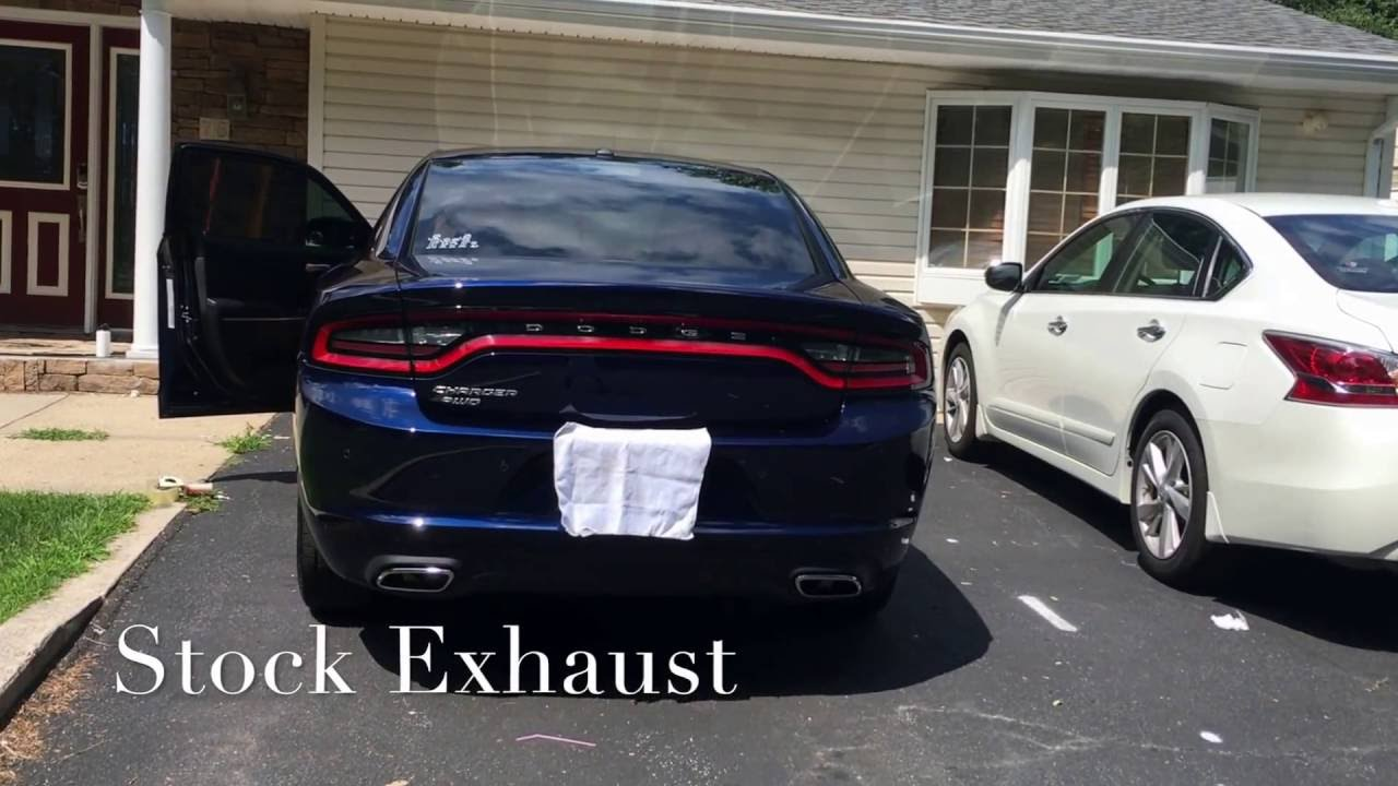 2016 Dodge Charger Se Sxt Awd V6 3 6l Pentastar With Borla Atak Exhaust
