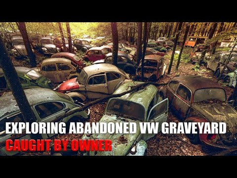 Exploring Abandoned Volkswagen Graveyard - Hundreds of VW Bugs