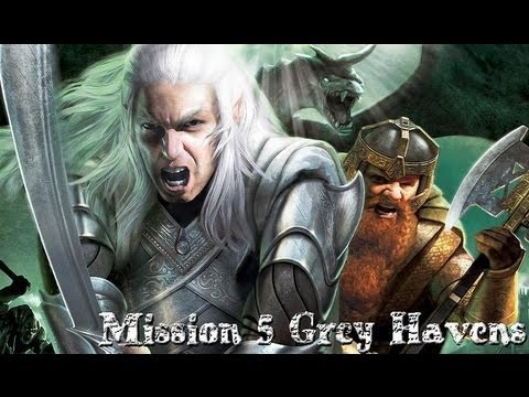 The Battle for Middle Earth 2- Good Campaign Mission 5- Grey Havens