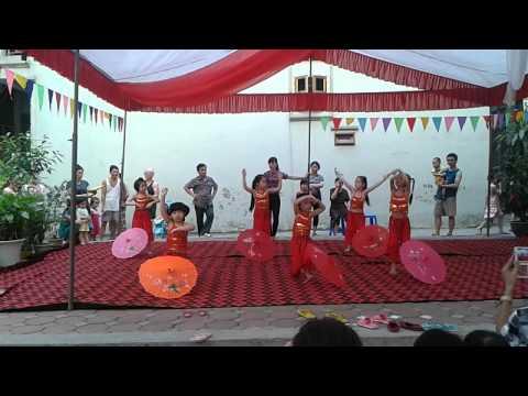 Văn nghệ chào mừng ngày Quốc tế thiếu nhi tại Mầm non Hoa Phượng Đỏ Hà Đông