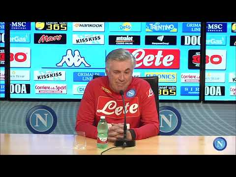 Napoli - Chievo, la conferenza stampa di Ancelotti - Ancelotti's press conference