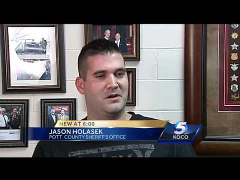Pottawatomie County deputy recalls rescuing OHP pilot