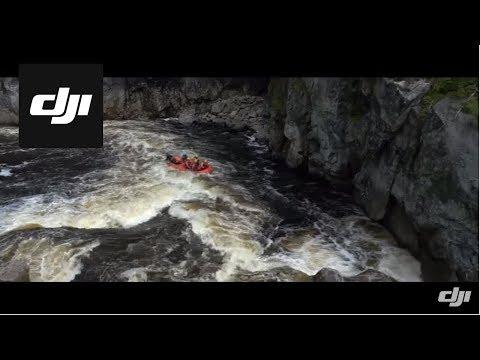 DJI-Whitewater Rafting In Canada