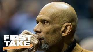 Kareem Abdul-Jabbar Talks Current Sports Landscape And LeBron James | First Take | May 17, 2017