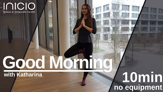 good morning session with Katharina: part 2