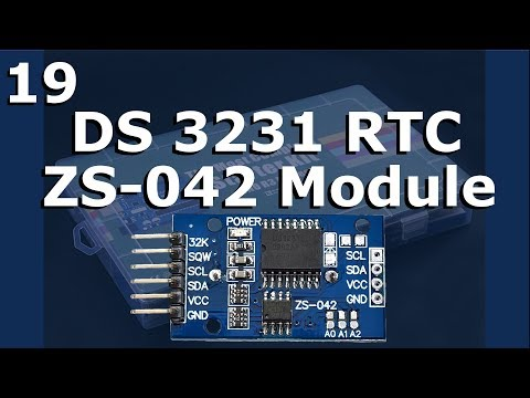 Lesson 19 – DS3231 RTC Module