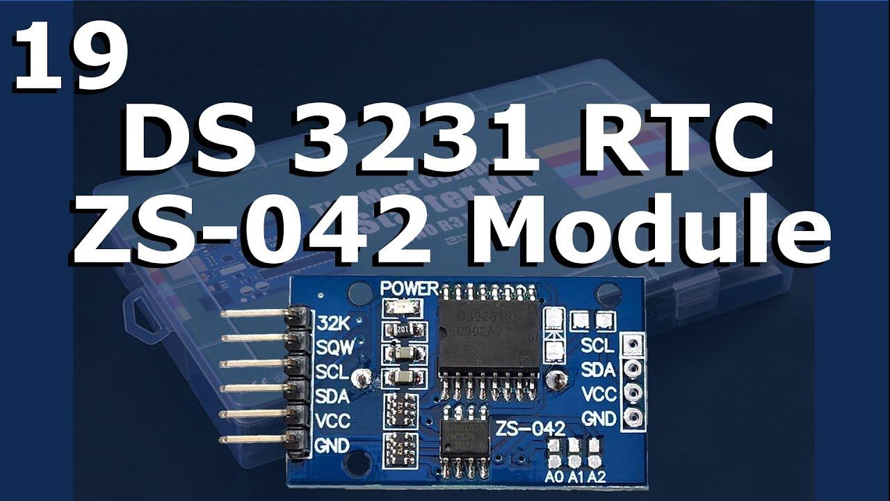 Lesson 19 – DS3231 RTC Module